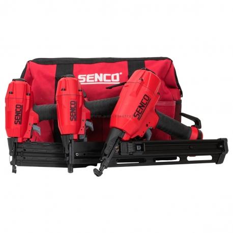 3 TOOL BLACK LABEL KIT Senco sada troch prístrojov (dve klincovačky, jedna sponkovačka + taška)