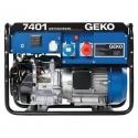 7401 ED-AA/HEBA Geko trojfázová elektrocentrála s motorom Honda a elektrickým štartom, IP54