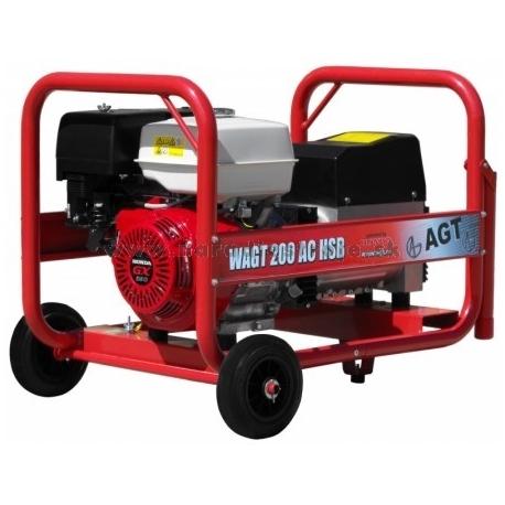 WAGT 200 AC HSB AGT jednofázová zváracia elektrocentrála s motorom Honda