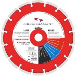 Profesional laser Solga diamantový kotúč na zámkovú dlažbu