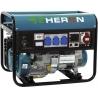 EGM 50 LPG-NG-3F Heron plynová rámová trojfázová elektrocentrála s AVR