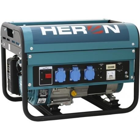 EGM 30 AVR Heron benzínová rámová jednofázová elektrocentrála s AVR