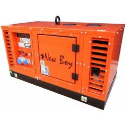 New Boy EPS73DE Europower jednofázová odhlučnená diesel elektrocentrála