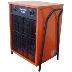 EL 22 Power Tec elektrický ohrievač s ventilátorom