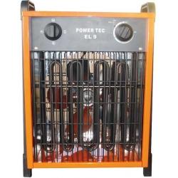 EL 9 Power Tec elektrický ohrievač s ventilátom