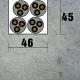 EMF 150 Eibenstock drážkovacia fréza na murivo + 2 ks kotúče 150 mm
