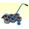 PRO045 nosič zatravňovacích dielcov