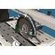 CLASS 670S BATTIPAV - portálová stavebná píla s laserom a kolieskami