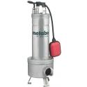 DP 28-50 S Inox Metabo stavebné kalové čerpadlo pre nepretržitú prevádzku
