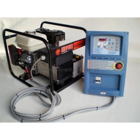 EP 6000E s ATS,AVR EUROPOWER jednofázová elektrocentrála-záložný generátor