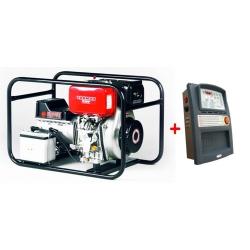 EP6000DE s ATS,AVR EUROPOWER jednofázová elektrocentrála-záložný generátor