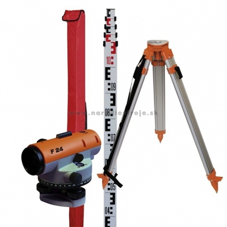 F24 NEDO nivelačný prístroj  - kompletný set