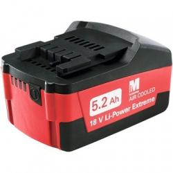 Li-Power Extreme Metabo akumulátor 18V / 5,2 Ah Li-Ion
