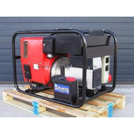 EPSP10000TDE Europower trojfázová elektrocentrála s diesel motorom a el. štartom