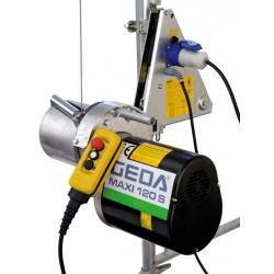 Maxi 120 S  Geda elektrický stavebný vrátok / lešenársky lanový navijak