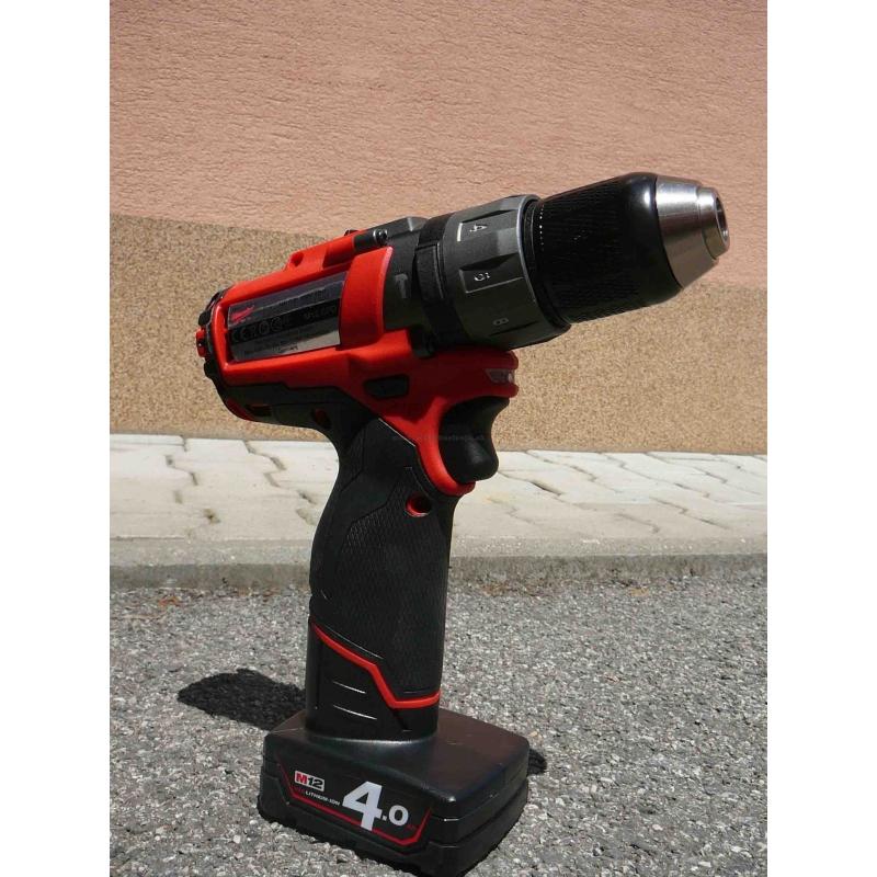 f4e187c00ab1e ... M12 CPD-402C Milwaukee FUEL™ 2-rýchlostný vŕtací skrutkovač s príklepom