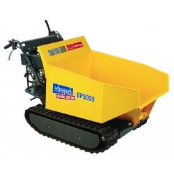 DP 5000 Scheppach motorový pásový prepravník 500 kg s hydraulickým sklápaním korby