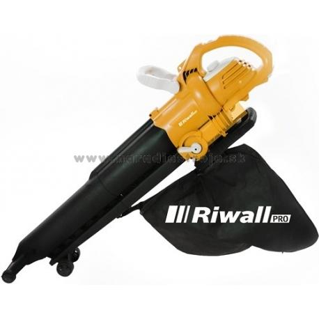 REBV 3000 Riwall záhradný vysávač/fúkač lístia s elektrickým motorom