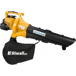 RPBV 31 Riwall záhradný vysávač/fúkač lístia s benzínovým motorom