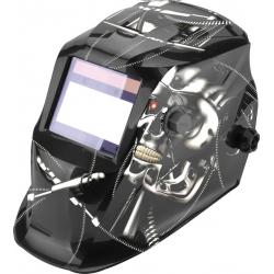 TS-718 samostmievacia zváracia kukla - kovová lebka