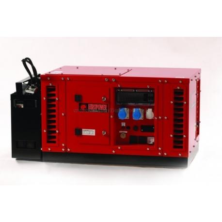 EPS 6000E Europower jednofázová odhlučnená elektrocentrála s motorom Honda GX390