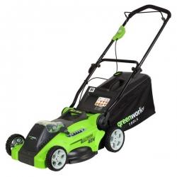 GWLM 4040 A Greenworks 40V aku kosačka 3v1