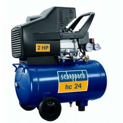 HC 25 Scheppach olejový kompresor so vzdušníkom 24l