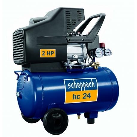 HC 24 Scheppach olejový kompresor so vzdušníkom 24l