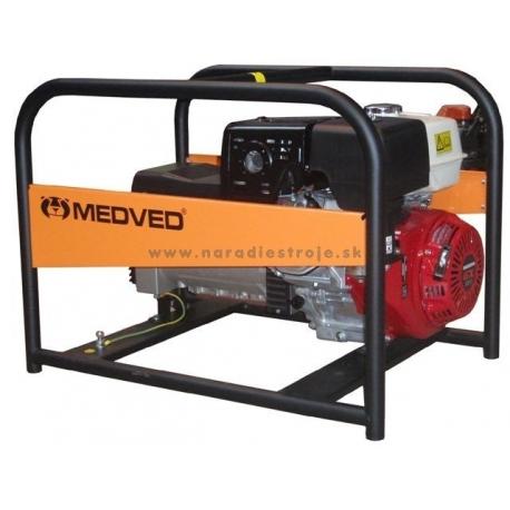 9060H Arctos Medved záložný jednofázový generátor  s motorom Honda GX390