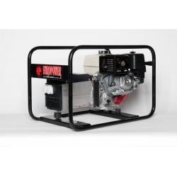 EP6000G Europower jednofázová plynová elektrocentrála - motor Honda GX390