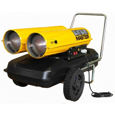 B300 CED Master ohrievač na naftu s priamým spaľovaním o výkone až 88 kW