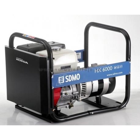 HX 6000 SDMO jednofázová elektrocentrála s motorom Honda