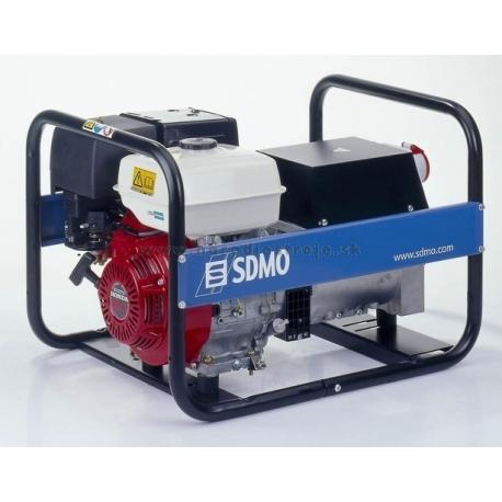 HX 5000T SDMO trojfázová elektrocentrála s motorom Honda