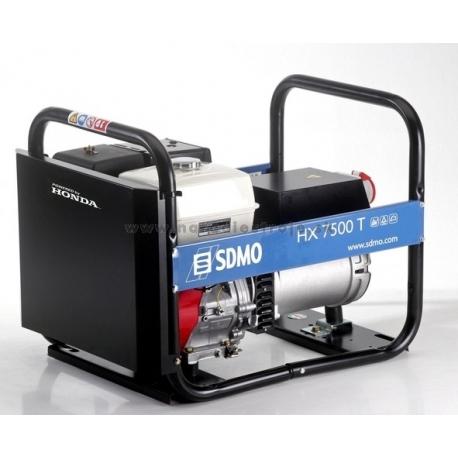 HX 7500T SDMO trojfázová elektrocentrála s motorom Honda