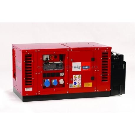 EPS6000DE Europower supertichá elektrocentrála s motorom HATZ, elektroštart
