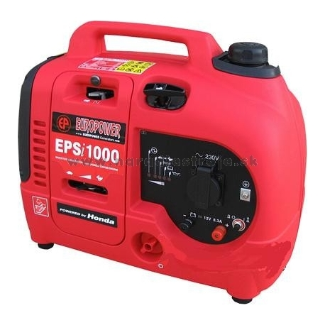 EPSi 1000 Europower jednofázová odhlučnená elektrocentrála - invertor