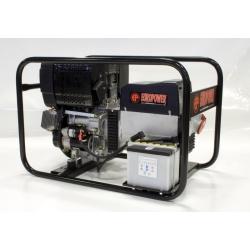 EP7000TDE Europower trojfázová elektrocentrála s diesel motorom a el. štartom