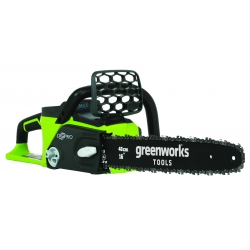 GD40CS40 Greenworks 40V aku reťazová píla s indukčným motorom