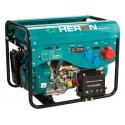 LPGG 43-3F Heron plynová trojfázová elektrocentrála - AVR, el. štart