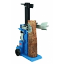 HL 850 Scheppach vertikálny hydraulický (elektrický 380V) štiepač dreva 8,5t