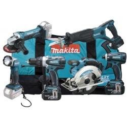 DLX6011 Makita akumulátorová sada náradia