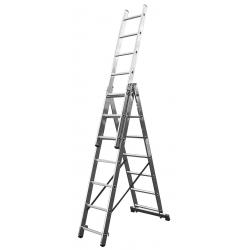3x9 Higher univerzálny výsuvný hliníkový rebrík
