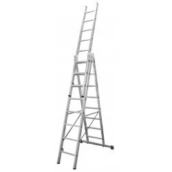 3x11 Higher univerzálny výsuvný hliníkový rebrík