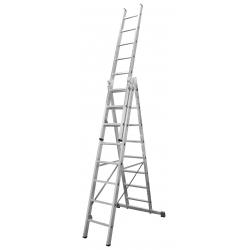 3x13 Higher univerzálny výsuvný hliníkový rebrík