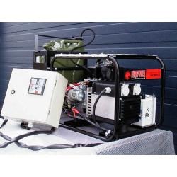 EP2500E PDM1 Europower jednofázová elektrocentrála, HONDA GX160, nádrž 20l