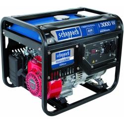 SG 3500 Scheppach jednofázová elektrocentrála s AVR a motorom Honda GX 200