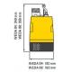 WEDA 08 Atlas Copco elektrické odvodňovacie čerpadlo