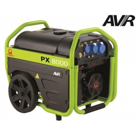 PX8000 Pramac jednofázová elektrocentrála s AVR a elektrickým štartom