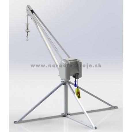 HE 725 TF TEA elektrický stavebný vrátok