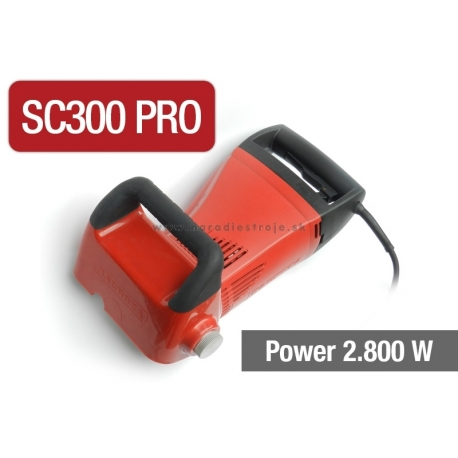 SC200 Macroza drážkovačka na vyfrézovanie hotovej drážky do rozmeru 50x50mm